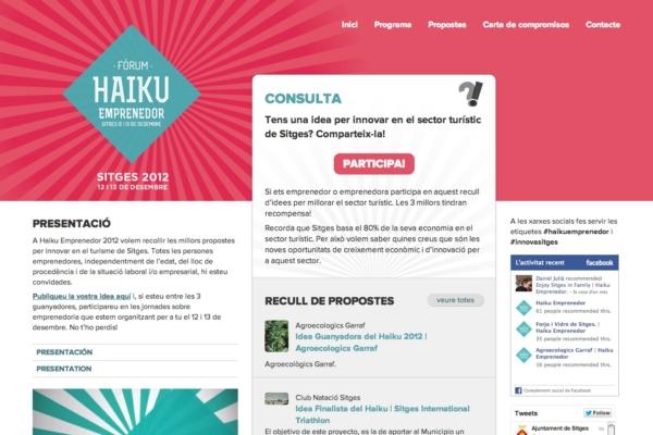 Web Haiku Emprenedor