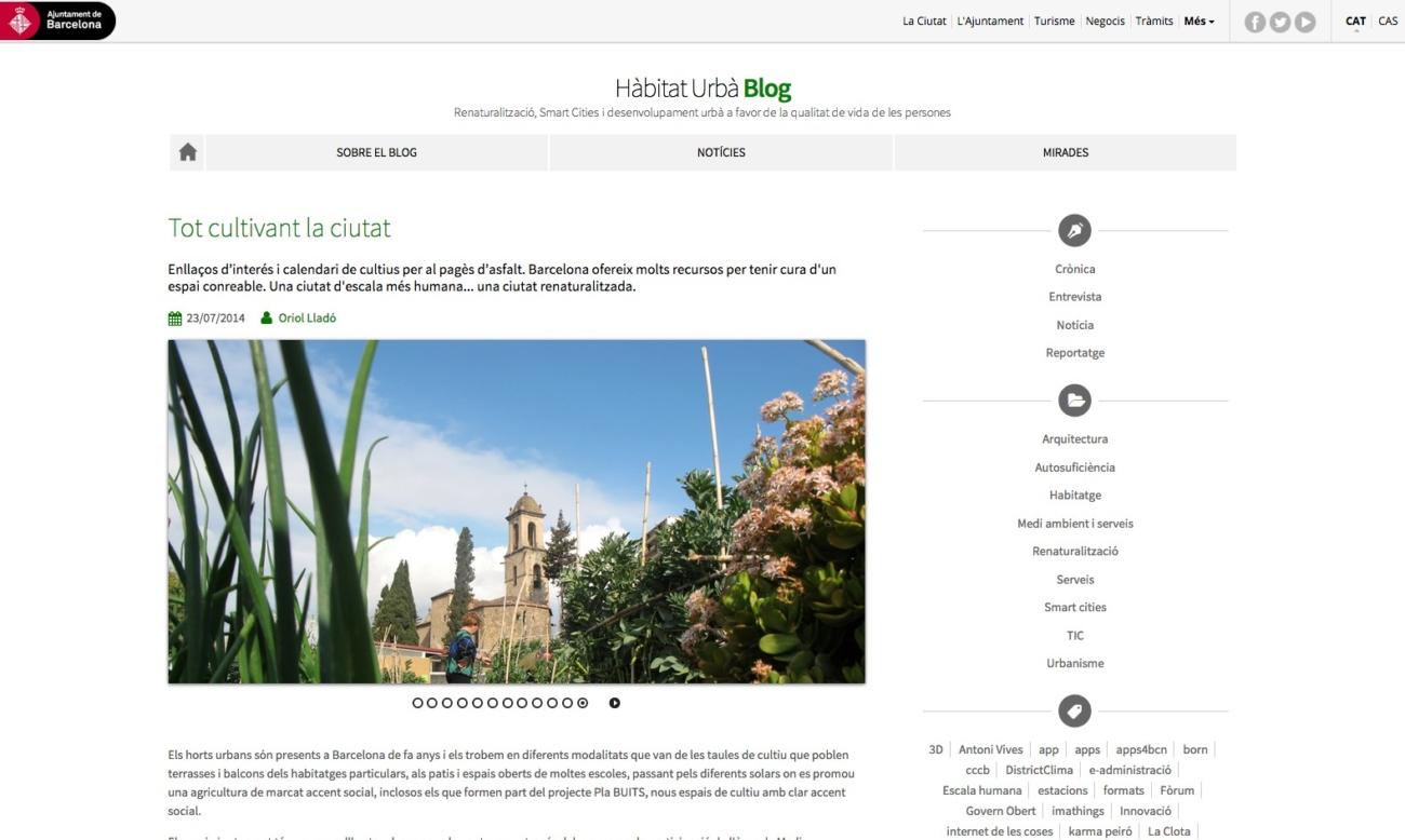 Blog d'Hàbitat Urbà
