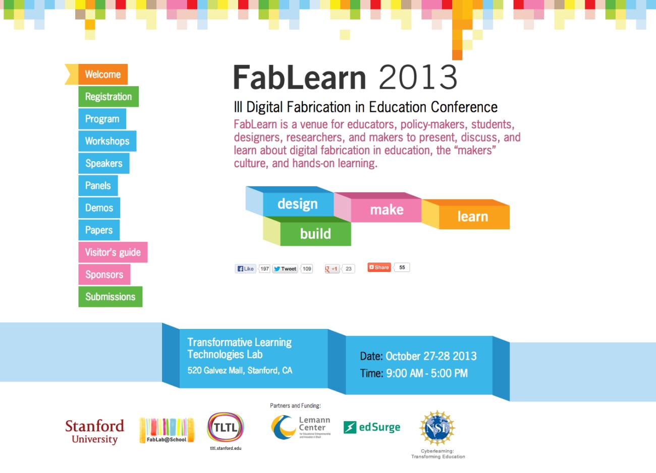 Web Fablearn 2013