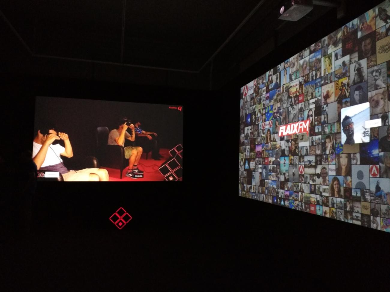 Exposició Flaix 2042 al Paulau Robert de Barcelona