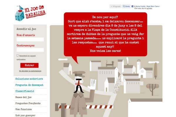 Web El Joc de Badalona
