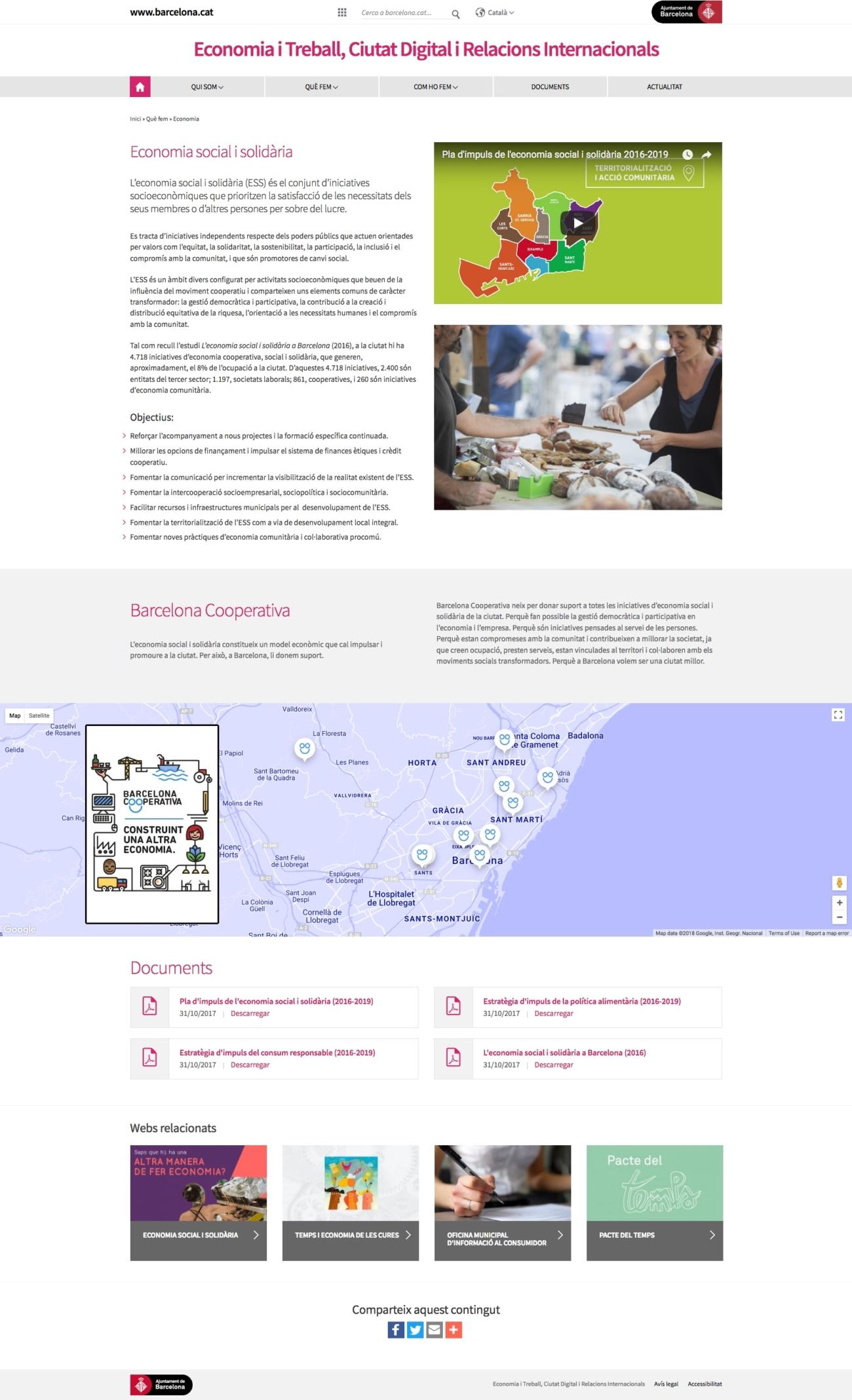 Web Primera Tinència Ajuntament de Barcelona