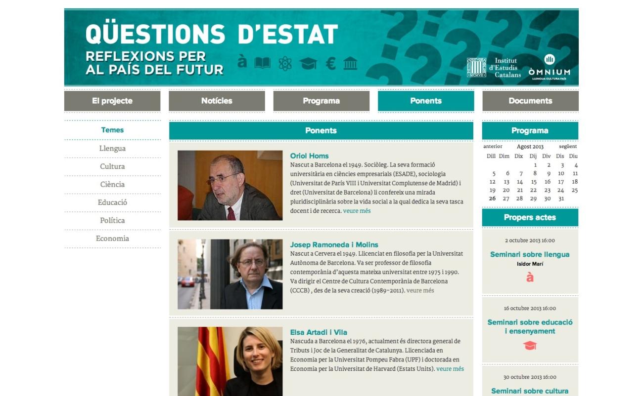 Web Qüestions d'Estat