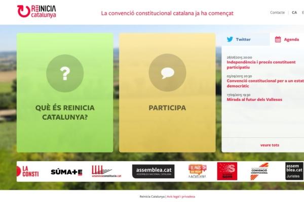 Web Reinicia Catalunya