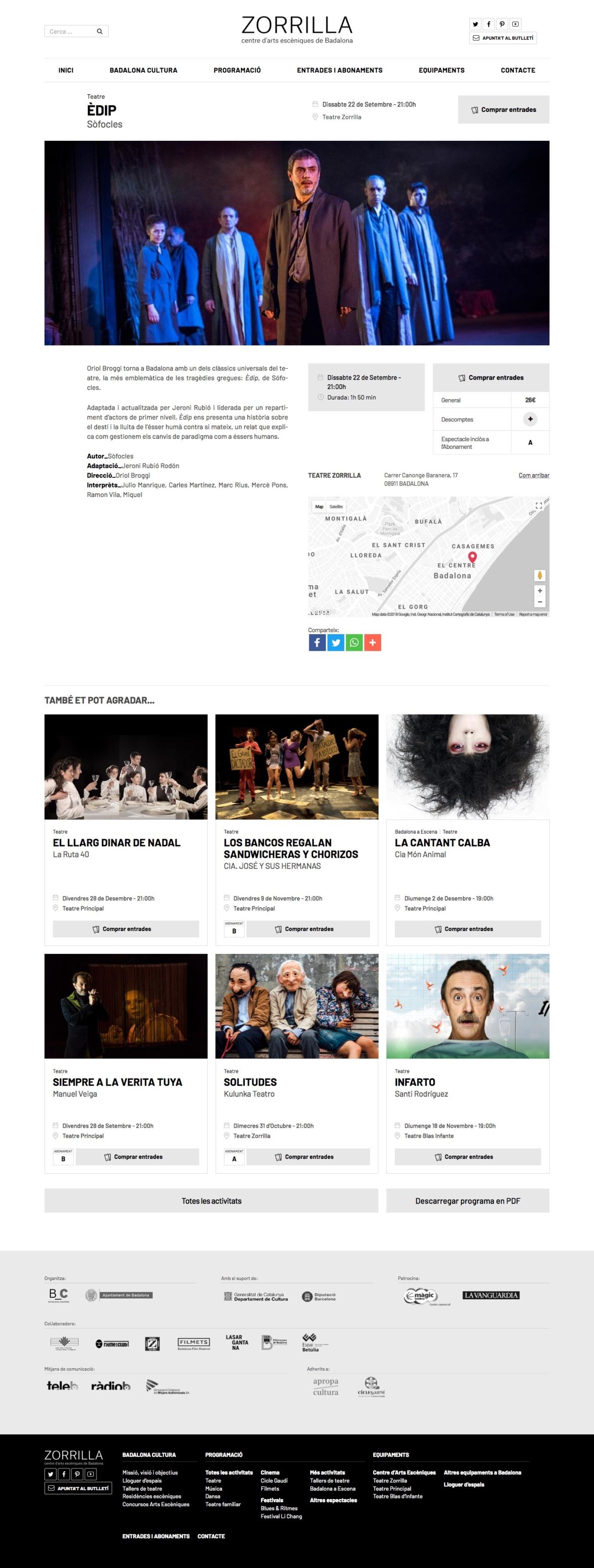 Wel del Teatre Zorrilla de Badalona