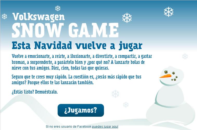 Volkswagen Snowgame