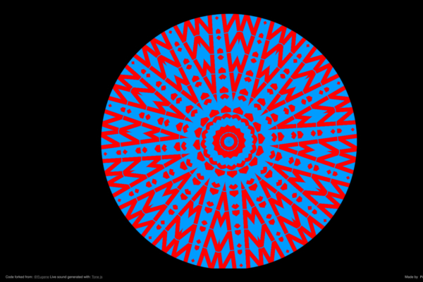 Formes geomètriques de colors del caleidoscopi
