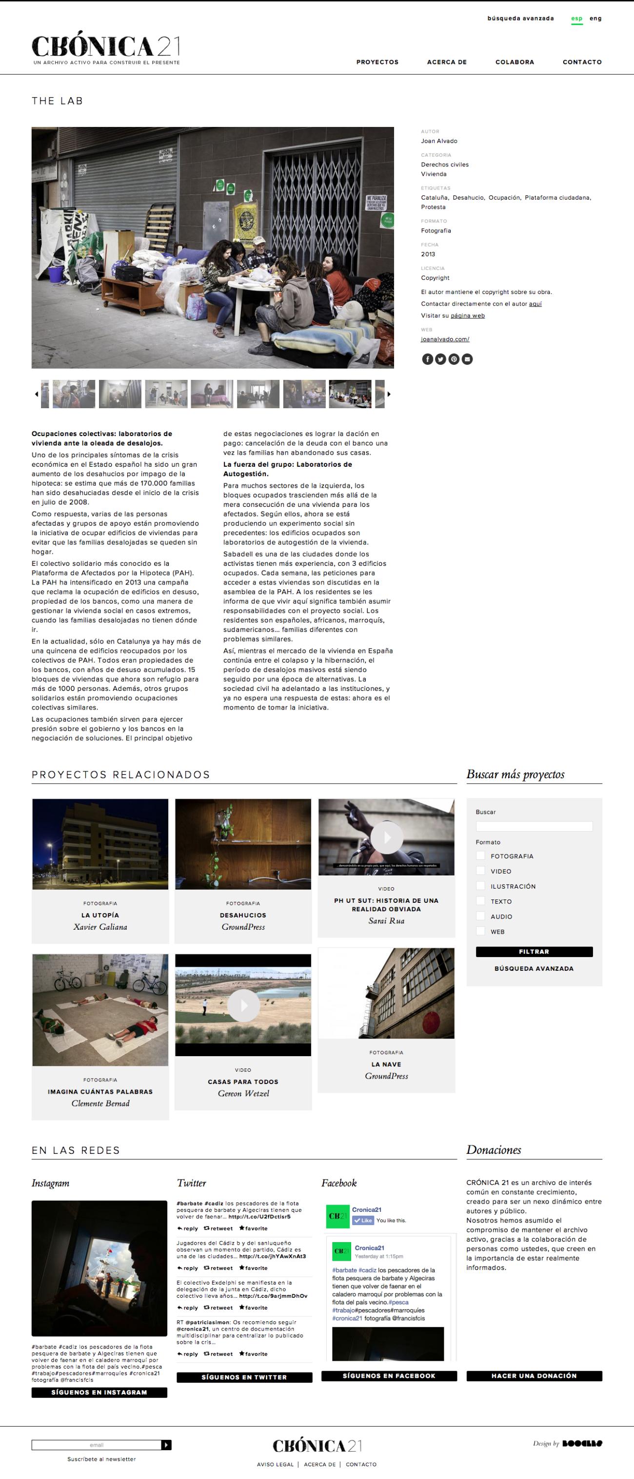 Web Crónica 21