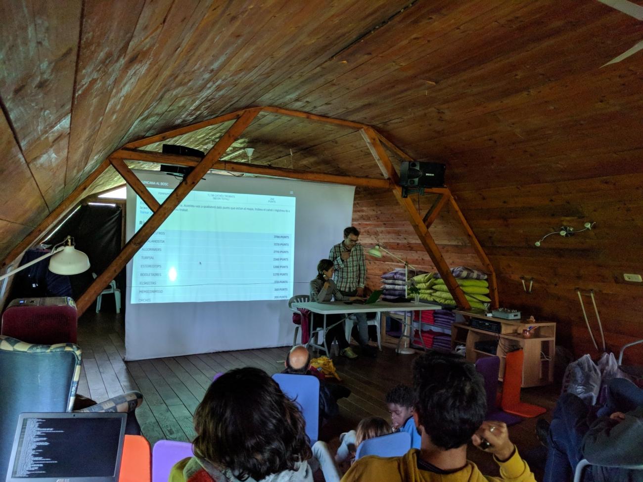 Presentació de Pimpampum a l'ESC 2018