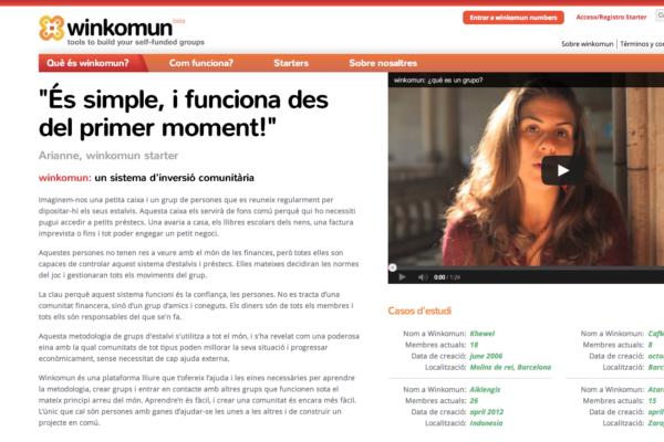 Web Winkomun
