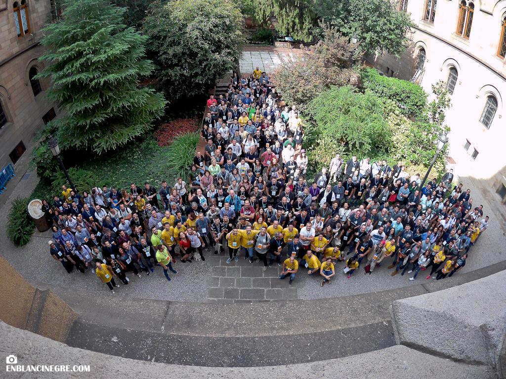 Foto de grup Wordcamp Barcelona 2018